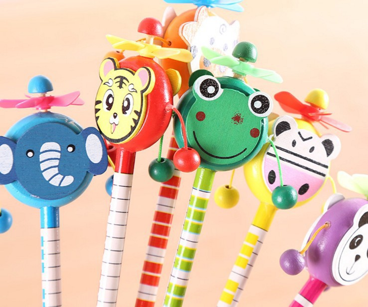 popular wooden pencil for kids