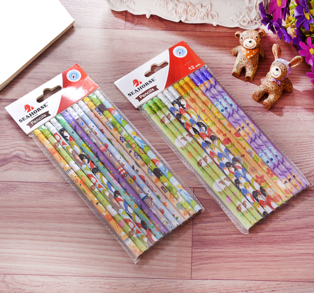 shrink film printing pencil