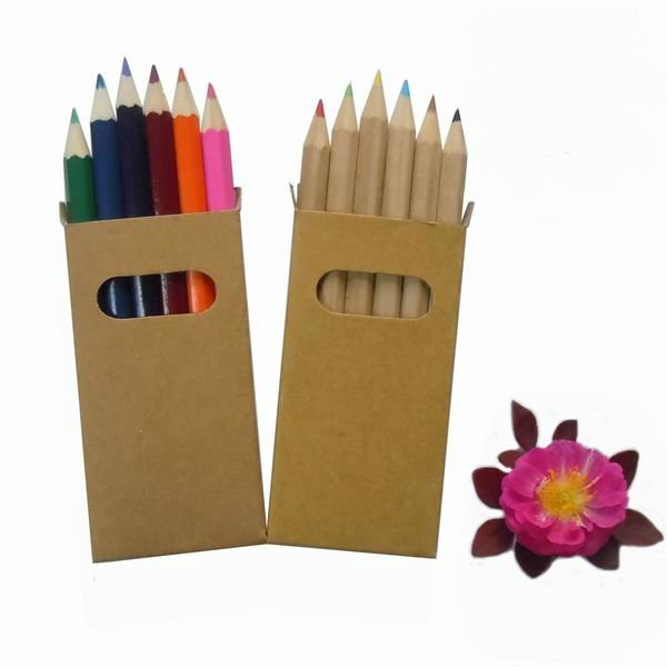 6pcs Wood Color Pencil for promotion