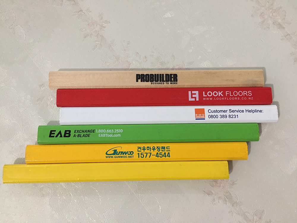 custom carpenter pencils